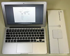 "Apple MacBook Air 11"" A1465 2.0GHz Core i7 8GB RAM 256GB SSD 10.12 macOS Sierra"