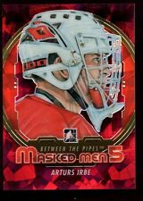 ARTURS IRBE MASKED MEN PRIZMS RAINBOW REFRACTOR SP 2012-13 ITG Between the Pipes