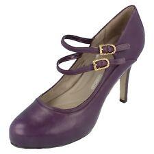 Mujer Rockport LILA leather zapatos de salón UK 4.5 / EU 7m sv74915
