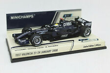 MINICHAMPS 1/43 Williams Toyota FW30 N. Rosberg Test Valencia 01-2008 400080407