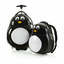 Heys Travel Tots Penguin Kids Luggage Set Carry On Backpack School Boys Girls