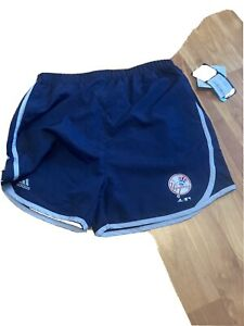 New York Yankees Adidas Gym shorts youth XL new with tags