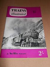 TRAINS ILLUSTRATED MAGAZINE ~ MAY 1959  VOL XII No 128 IAN ALLAN
