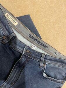 Country Road denim mens slim jeans 34 x 33