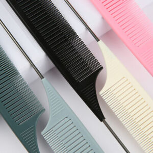 Section Weaving Highlighting Foiling Hair Comb for Salon Combs Pin Tail