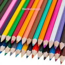 60 COLOURING COLOUR PENCILS PACK CHILDREN KIDS SCHOOL COLOURED ART CRAFT FUN
