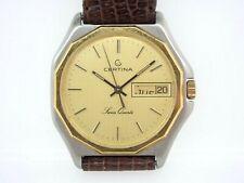 Certina 7 Jewel Quartz Men's Wrist Watch parts maybe repair 955.121