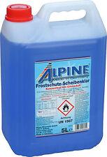 Alpine Frostschutz Scheibenklar 5L (1,45€/L) -60°C Konzentrat Scheibenreiniger