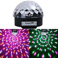 Bluetooth LED Stage Effect Light Disco DJ Party Magic Ball MP3 USB Lighting Lamp