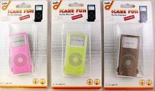iPod Nano 2. Generation Silikonhülle Schutz In Pink verschiedene Farben