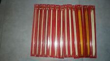 "11 Pair NOS Vtg Boye Balene 14"" Knitting Needles 14k Gold Sizes 2-13 MADE IN USA"