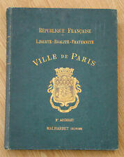 1890s Illustrated French Hunting Book Au Bois deer fox rabbit boar wildcat