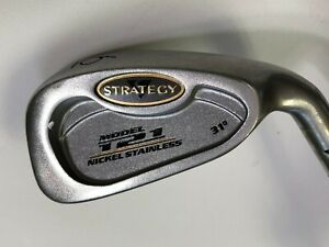 Strategy Model 121 Nickel Stainless 31* Single Iron 6 Regular, Man, Right-Handed