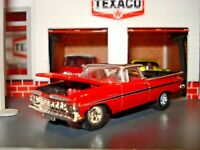 1959 59 CHEVROLET EL CAMINO PICKUP LIMITED EDITION RARE 1/64 HW RED AND BLACK