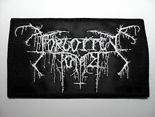 FORGOTTEN TOMB  EMBROIDERED PATCH
