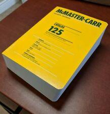 2020 LATEST MCMASTER-CARR CATALOG # 126, UNOPENED ORIGINAL PACKAGING