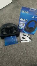 Ps4 gold wireless headset vgc