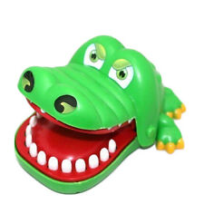 Cute Crocodile Mouth Dentist Bite Finger Game Funny Toy Kids