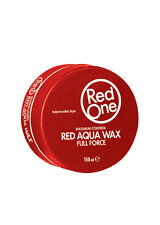 3 x Red One RED AQUA HAIR WAX 150 ML Full Force RedOne We also Sell Muk