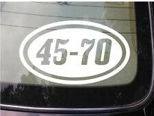 """45-70 gun 6"""" sticker ammo bullet decall 2a pistol 2nd amendment conceal *C123*"""