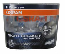 Range Rover Sport OSRAM H7 Night Breaker Unlimited Halogen Headlight bulbs