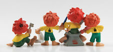 Pumuky === 4 x figuras publicidad werbefiguren Schleich + Bully Caja de Ahorros
