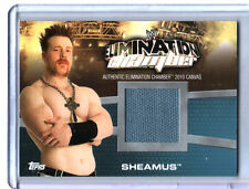 WWE Sheamus Elimination Chamber 2010 Topps Canvas Event Used Ring Mat Card DWC