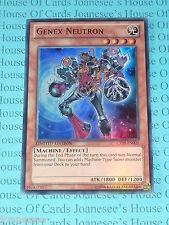 Yu-gi-oh Genex Neutron CT09-EN005 Super Rare Mint Limited Edition New