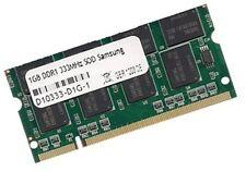 1GB RAM für Packard Bell EasyNote M3308 M3309 333 MHz DDR Speicher PC2700