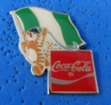 1988 Coca Cola Ltd Edition Flag Pin - Nigeria