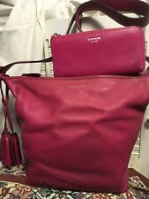 COACH Leather LEGACY Convertible DUFFLE Crossbody Shoulder Handbag Tote w/Wallet