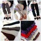 Hot Women Lady Winter Leg Warmers Gaiters Knit Warm Boot Cuffs Socks Fashion