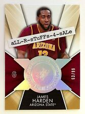 2014-15 SPx Finite Legends JAMES HARDEN Radiance /99 Arizona St. Sun Devils #JH