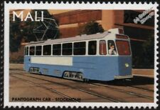 City of STOCKHOLM TRAMWAY (Sweden) Class A25 Mustang Pantograph Tram Train Stamp