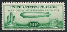 UNITED STATES C18 MINT F- VF NH 50c ZEPPELIN