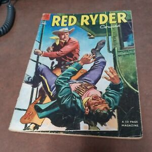 RED RYDER COMICS #119 dell 1953 golden age western FRED HARMAN art precode book