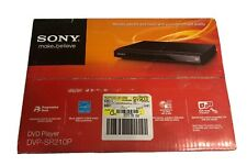 Sony Dvp-Sr210P Dvd/Cd R/Rw Player Black New Progressive Scan Energy Star Dolby