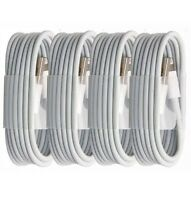 4x NEW 3ft USB Sync Cord Charging Cable For Apple iPhone 6 6s SE C 7 8 10 X Plus