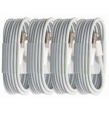 4X 3ft White New USB Sync Cable For Apple iPhone 6 6s SE Plus C 5 7 Charger Cord