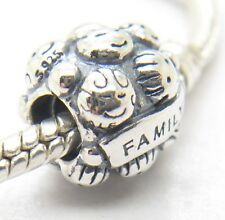 Authentic Pandora S925 LOVE & FAMILY Sterling Silver Charm 791039