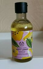 The Body Shop Special Edition Zesty Lemon Shower Gel 250ml NEW