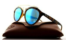 NEW Authentic Ray-Ban GATSBY II Tortoise Blue Mirror Sunglasses RB 4257 6092/55