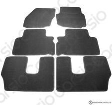 Ford S-max 7 Seater 2006 to 2014 Tailored Black Car Floor Mats Carpets 6pc Set