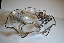 "Vintage Silver City Flared 12 1/2"" Bowl - Blossom Time Pattern, Discontinued"