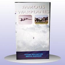 Famous Warplanes 2 Bombers Wellington Blenheim Military Aircraft - VHS PAL - NEW