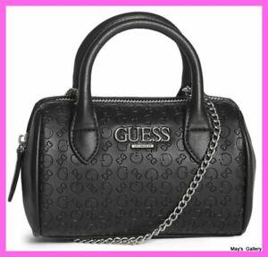 Guess Handbag Purse Crossbody Shoulder Hand Bag Small Satchel Barrel  Bria