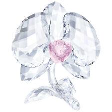 Swarovski Crystal Orchid Decoration Figurine Signed 5453404 5301562