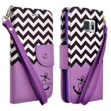 Samsung Galaxy S4 Mini Hybrid PU Leather Wallet Card Money Slot Kickstand Case