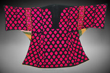 antique Woman's embroidered tunic Dress from swat valley pakistan Kleid 18/2