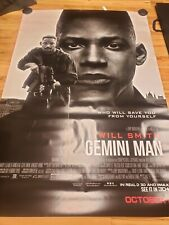 GEMINI MAN WILL SMITH LENTICULAR BUS STOP SHELTER MOVIE POSTERS
